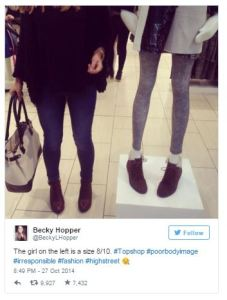 The girl on the left is a size 8/10. #Topshop