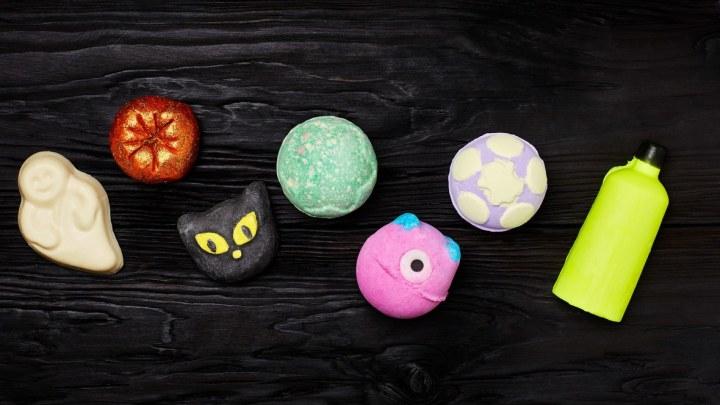 La nuova collezione Halloween di Lush è ricca di detergenti e saponispaventosi